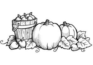 fall coloring pages free printable download
