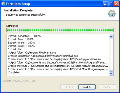 Installer Reports building the client installer 6 0 variations3 confluence