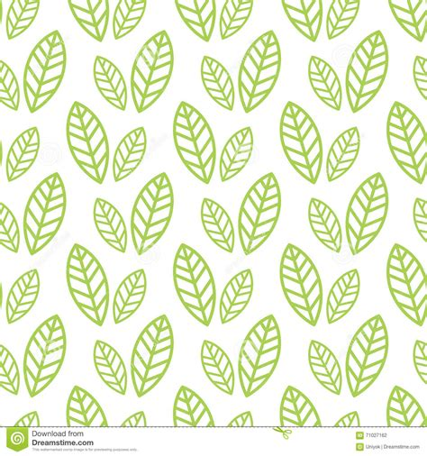 simple pattern leaves simple seamless organic wallpaper with a pattern of green