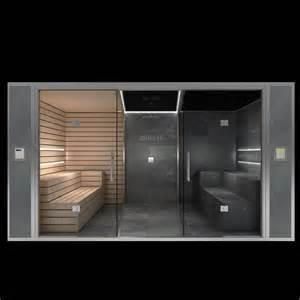 sauna mit dusche luxus kombisauna iii