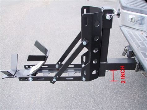 Trailer Hitch Motorcycle Rack by Tms Motorcyclestand Sc1307a Motorcycle Trailer Hitch