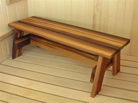 cedar bench designs sauna bench handrails are recommended for bench designs