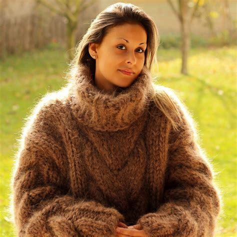 angora mohair 10 strands knit mohair sweater by extravagantza
