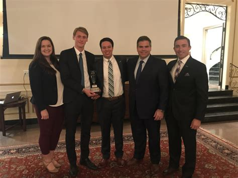 Lsus Mba Graduate With Honors by Hofmann And Lacombe Win The 6th Annual Mba Corporate