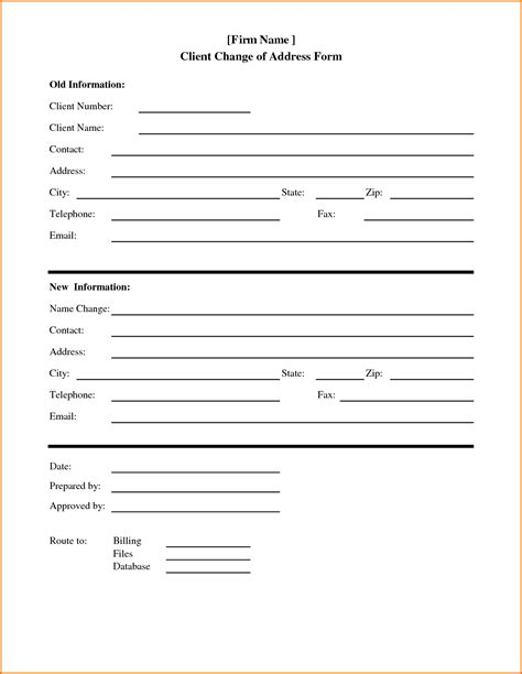template form html 4 address template divorce document