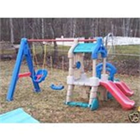 little tikes slide and swing set little tikes swing set playground variety slide climber
