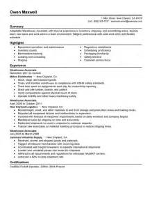 Logistics Resume Objective Examples Shipping Resume
