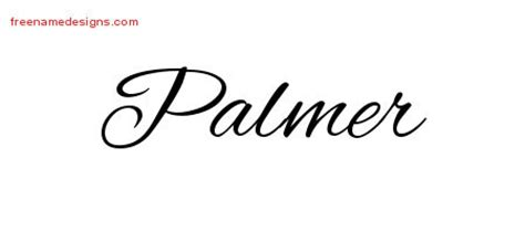 design graphics palmer cursive name tattoo designs archives page 173 of 401