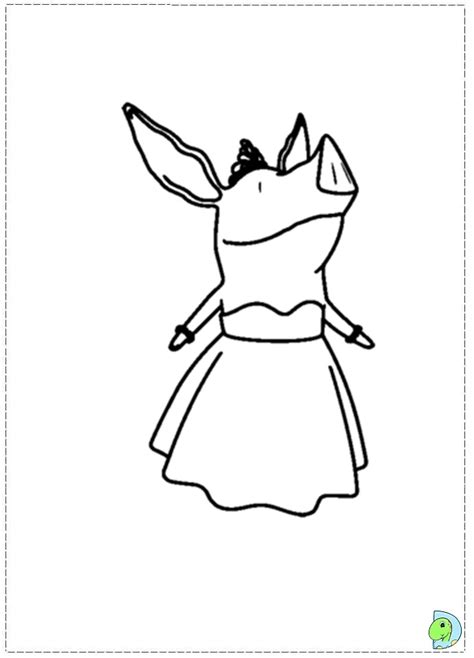 nick jr olivia coloring pages olivia olivia the pig coloring pages