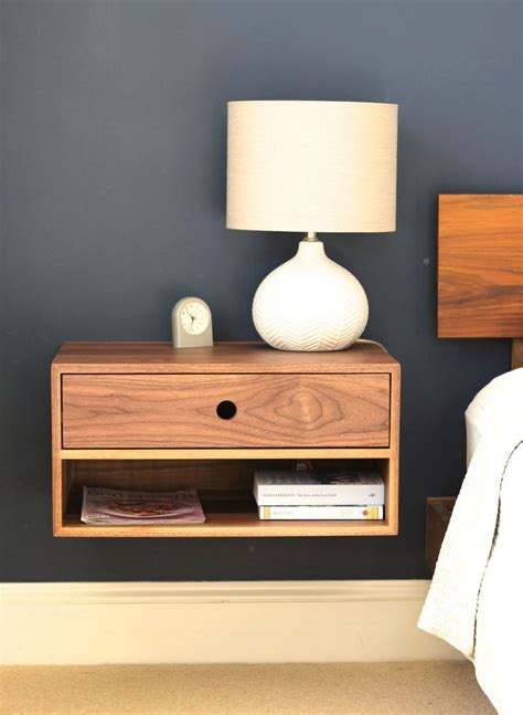 Floating Drawer Nightstand Best 25 Floating Nightstand Ideas On Pinterest