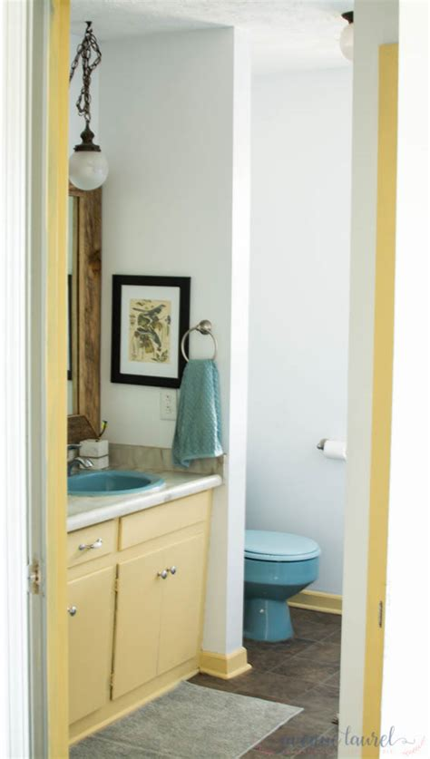 Rental Bathroom Makeover by A Rental Bathroom Makeover On A Budget Project Andy S