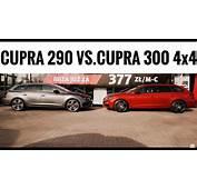 2017 SEAT Leon CUPRA ST 300 4Drive 4x4 Vs 2016