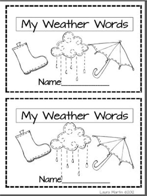 weather pattern in spanish free printable vocabulary worksheets for first grade