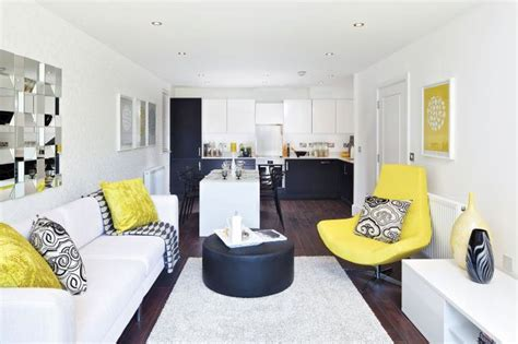 home design yellow contemporary home design with a dash of yellow