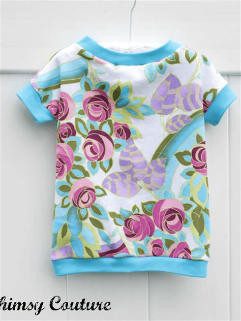 pattern for knit shirt knit t shirt pattern for girls whimsy couture sewing
