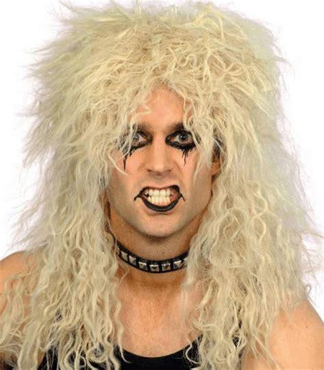 Friseur Top Hair Carnavalspruik Pruik Lang Haar Blond Rocker