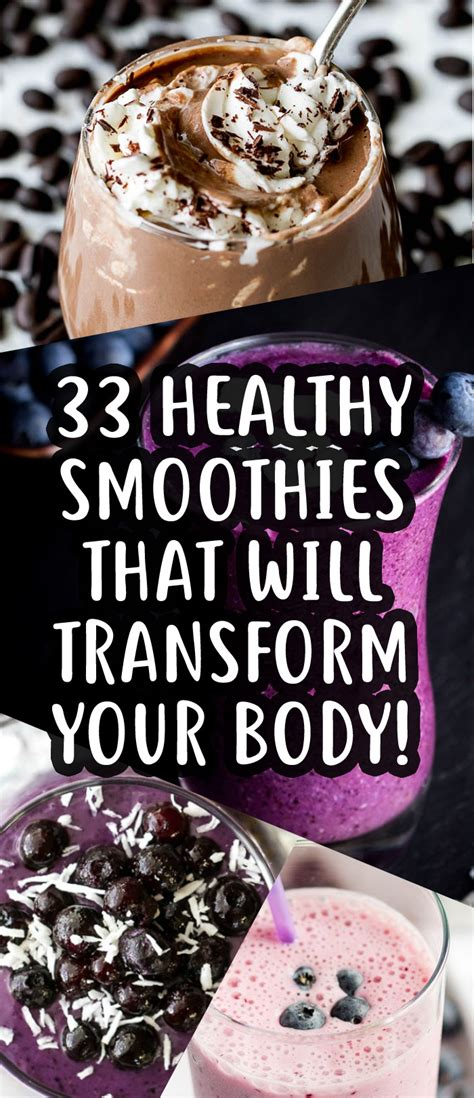 weight loss 33 33 weight loss smoothies that will help transform your