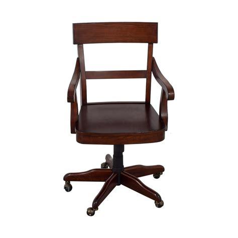 pottery barn desk chair 55 pottery barn pottery barn swivel wood desk chair