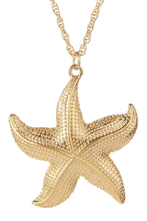 starfish pendant necklace jewelery
