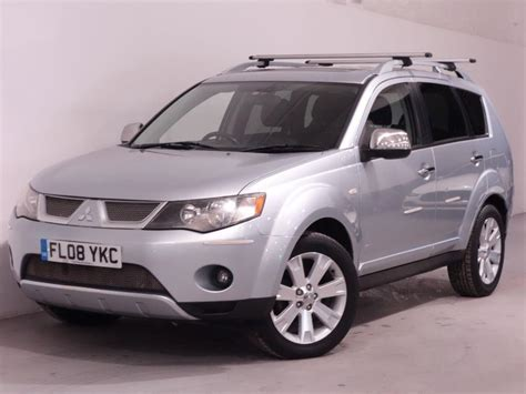 old car manuals online 2008 mitsubishi outlander seat position control used 2008 mitsubishi outlander diamond top spec leather interior 7 seats 1 former keeper