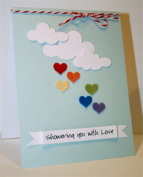 easy card for paper is my clean and simple card day 3