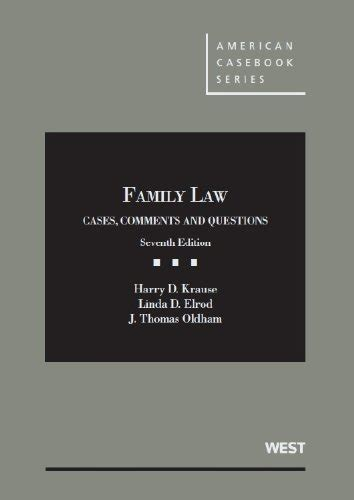 family cases comments and questions american casebook series books save 4 family cases comments and questions 7th
