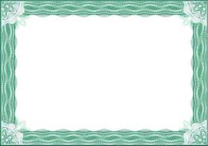 Free Certificate Border Templates by Free Vector Certificate Border