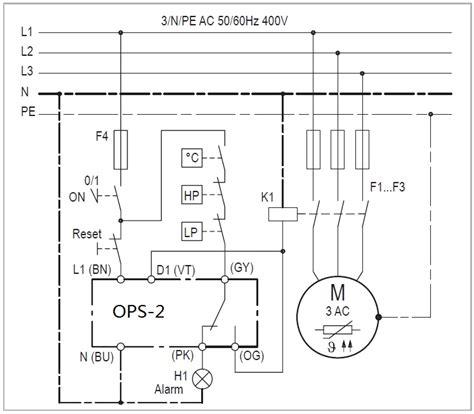 bitzer compressor wiring diagram wiring diagram with