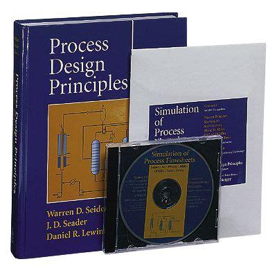 process design principles synthesis analysis and
