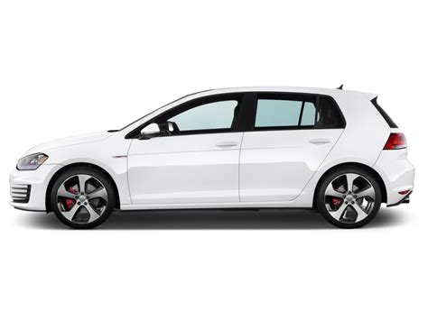 volkswagen side image 2016 volkswagen golf gti 4 door hb dsg se side
