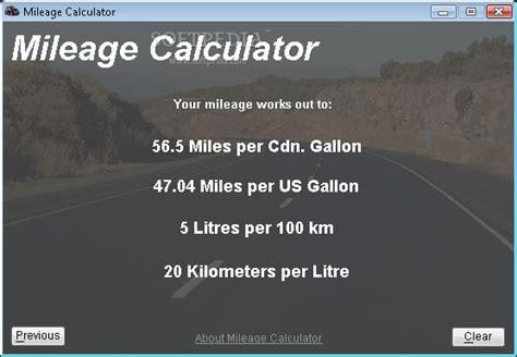 gas mileage calculator 1 2 0 0