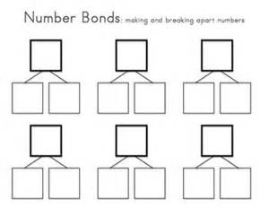 blank number bond template white gold
