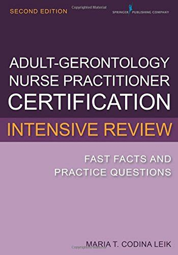 gerontology practitioner certification