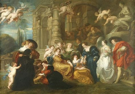 the garden of love rubens