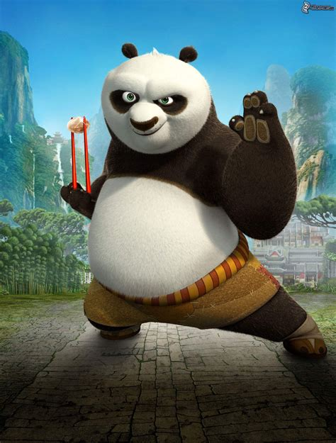 imagenes de kung fu panda po panda po