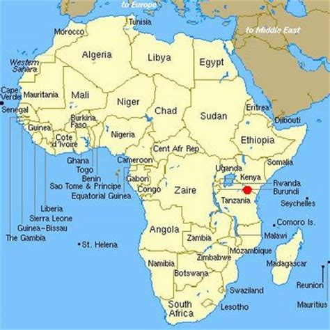 africa map kilimanjaro climbing kilimanjaro