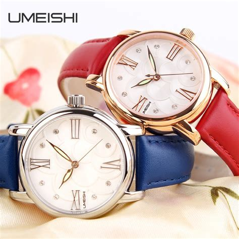 Rolex Tanggal Rosegold Diskon umeishi quartz leather fashion 30m water resistance q004 gold