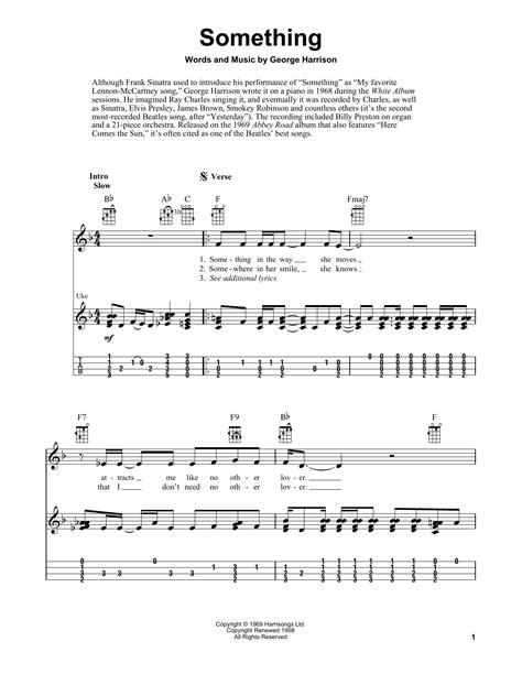Something Beatles Guitar Chords