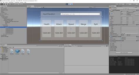 unity custom layout group how do you remove padding from horizontal layout group