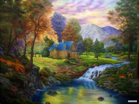 imagenes figurativas realistas faciles paisajes al oleos hd buscar con google pintura