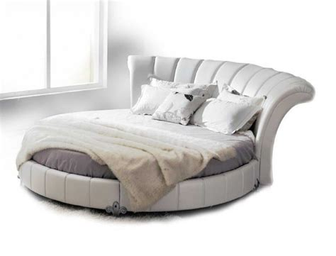 couch headboard luxurious round leather beds for sale