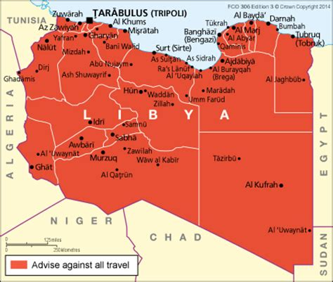 Libya Calend 2018 Libya Travel Advice Gov Uk