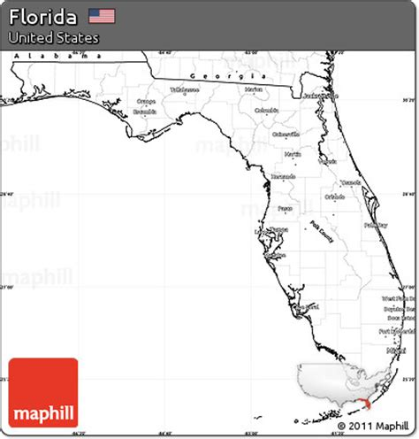 Florida Simple Search Free Free Blank Simple Map Of Florida