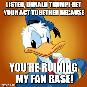 donald duck meme imgflip