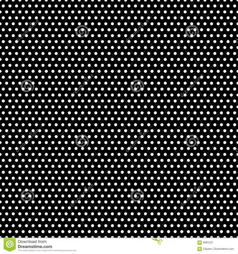 pattern black and white dots black and white polka dots pattern stock vector image