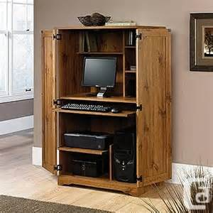 Used Computer Armoire Sauder Computer Armoire For Sale In Pickering Ontario Classifieds Canadianlisted