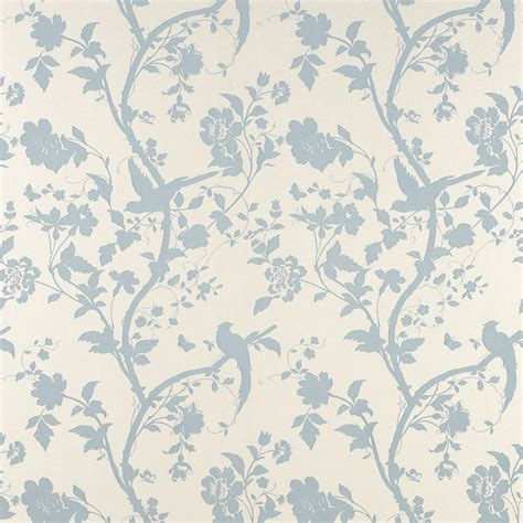 blue patterned wallpaper uk oriental garden duck egg floral wallpaper at laura ashley