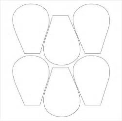 flower templates free flower petal template 27 free word pdf documents