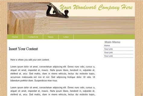 woodworkers web how to build woodworking website templates pdf plans