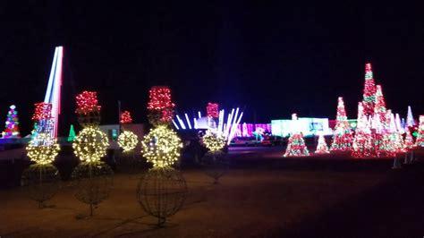 illumination symphony of lights drive thru lights at illumination symphony of